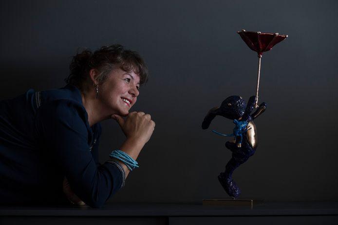 Kunstenares Petra Dorst: ,,Alleen al van het maken, word ik heel blij.''