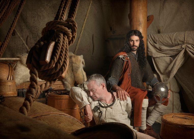 Sommige Vikingen hadden een Zuid-Europees uiterlijk. Beeld Jim Lyngvild