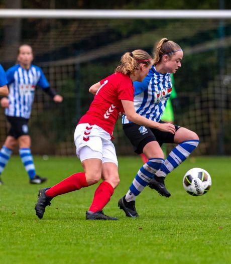 Zwaarbevochten winst FC Eindhoven Vrouwen bij voormalige landskampioen