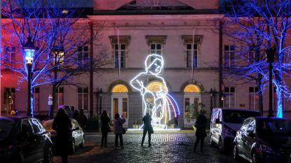 Brussel in de schijnwerpers tijdens lichtfestival