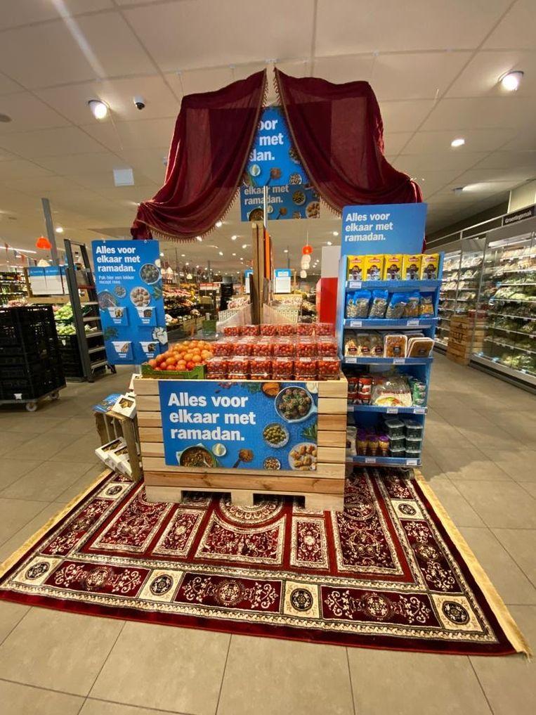 Ramadan bij Albert Heijn. Beeld Facebook / Albert Heijn