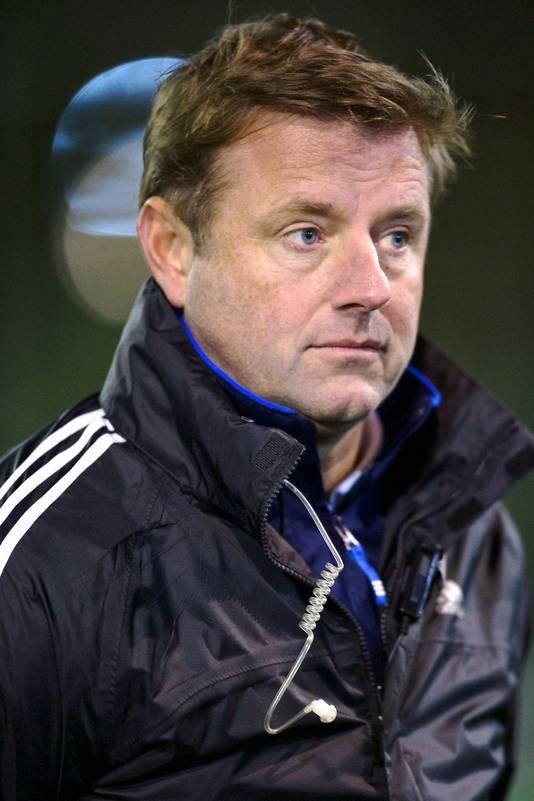 Marc Lammers als bondscoach van België