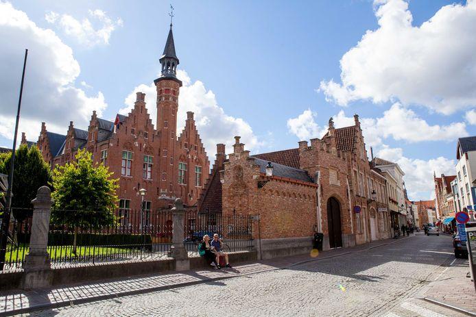 De Stedelijke Academie in de Katelijnestraat.