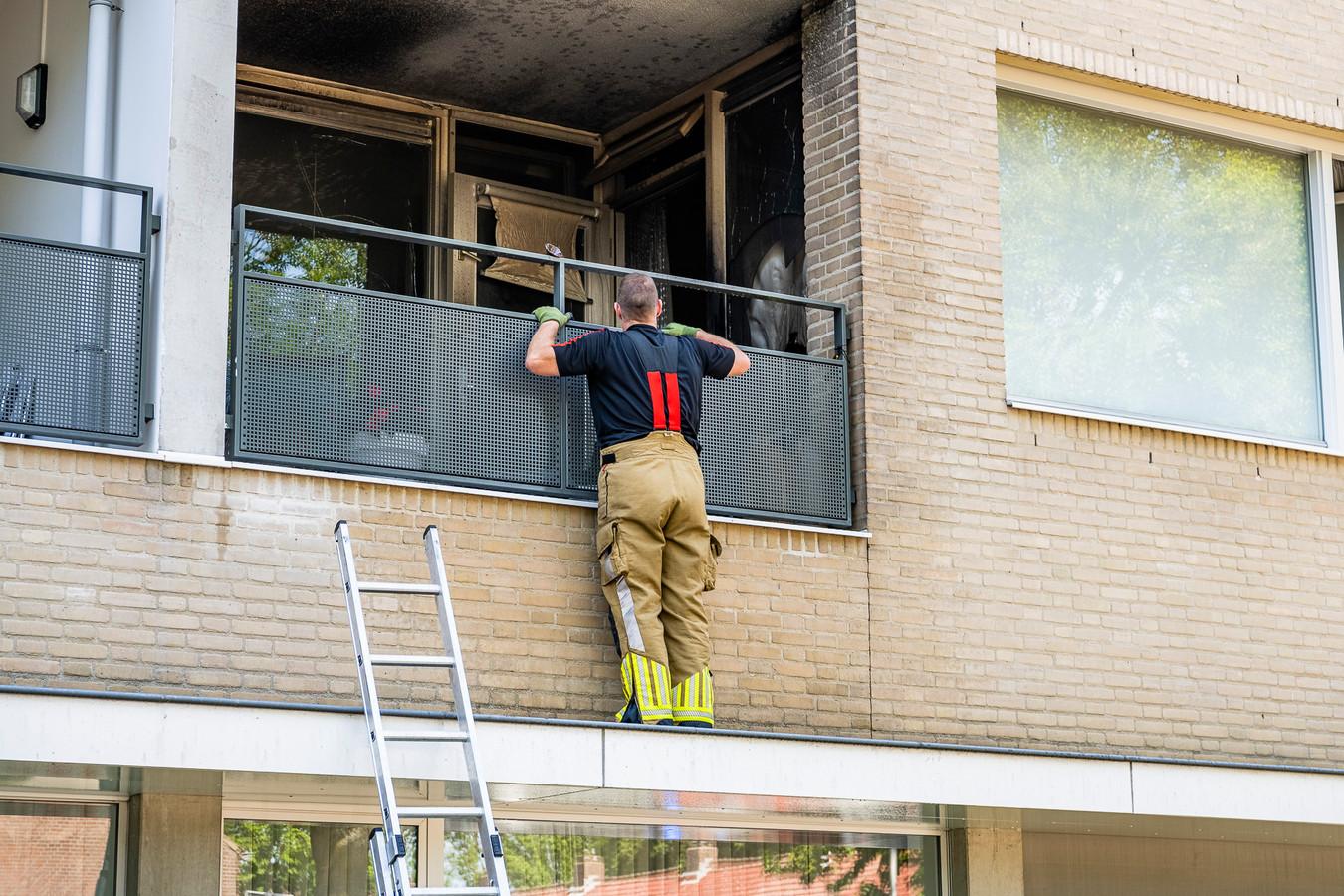 Brand in woon-zorgcentrum Satijnhof Tilburg