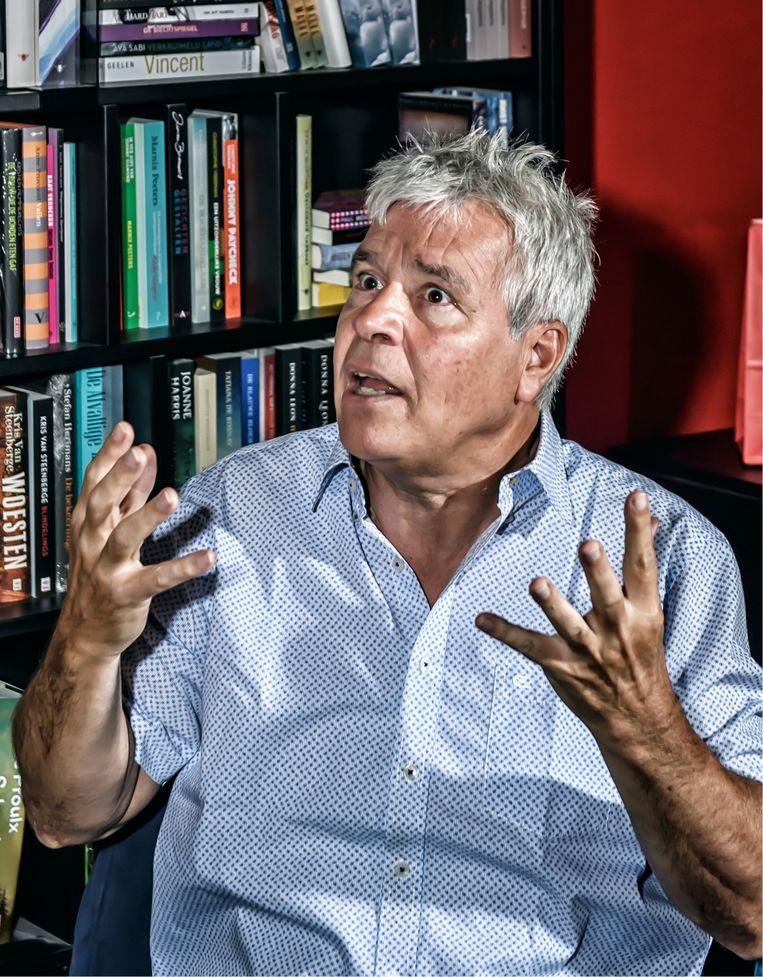 Bert Anciaux: 'Toen ik voorzitter werd van de Volksunie, was mijn eerste grote daad de onderhandelingen laten springen. Ik was de held van mijn partij, maar had niks gerealiseerd.' Beeld