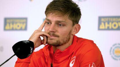 """Goffin hoopt Tsitsipas te verrassen in halve finale in Marseille: """"Eerste keer dat ik outsider ben tegen hem"""""""