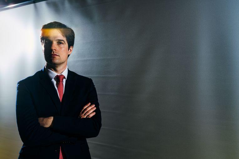 Staatssecretaris voor Relance en Strategische Investeringen, Thomas Dermine (PS).  Beeld Illias Teirlinck
