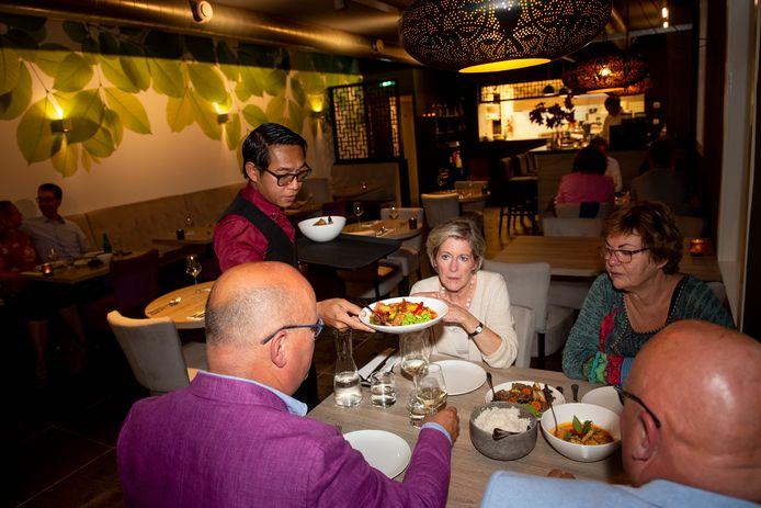 DS-2019-6274 - Meppel - Over de Tong ging eten bij Ton Nam Thai in Meppel. Foto Kevin Hagens KH20190907