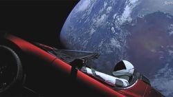 """Dirk Frimout over raketlancering Elon Musk: """"Die Tesla was niet nodig... maar de rest was spectaculair"""""""