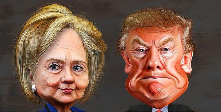 The presidential podcast Beeld Chris Kijne en Guus Valk