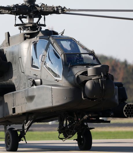 Hoor je volgende week herrie boven Hellendoorn, dan zijn dat Apache-helikopters die oefenen in deze regio