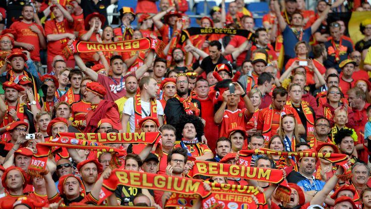 De Rode Duivels zullen in Leiria niet worden gesteund door hun trouwe achterban Beeld Photo News
