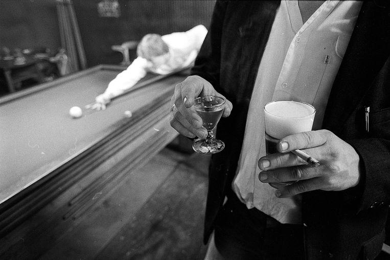 Café Brandon, Amsterdam, 1984 Beeld Eddy Posthuma de Boer