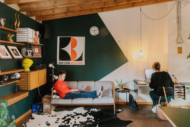 Bar Leon, Antwerpen Beeld Kevin Faingnaert