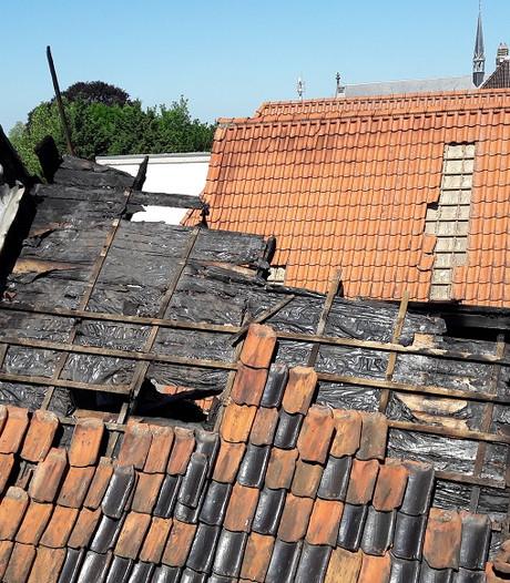 Toch instortingsgevaar na brand: onderzoek nog niet mogelijk
