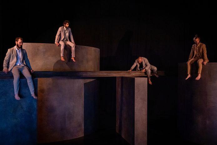 Een fragment uit de voorstelling Vanishing Point, van het Bossche gezelschap Panama Pictures.