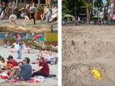Het is stil op het stadsstrand van Veenendaal: van bruisend hart naar kale vlakte