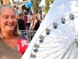 Gigantisch reuzenrad in het centrum van Breukelen
