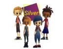 De personages van de game Silver.