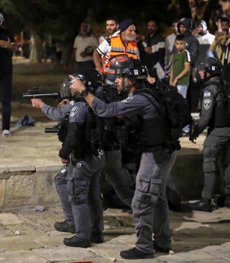 Plus de 180 blessés dans des heurts entre Palestiniens et police israélienne à Jérusalem