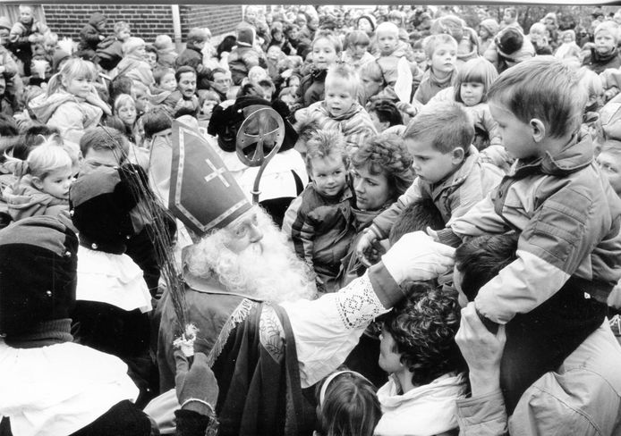 Bij de intocht van 1988 in Haaksbergen.
