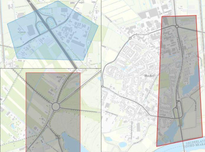 Deze gebieden zijn aangewezen als veiligheidsrisicogebied.