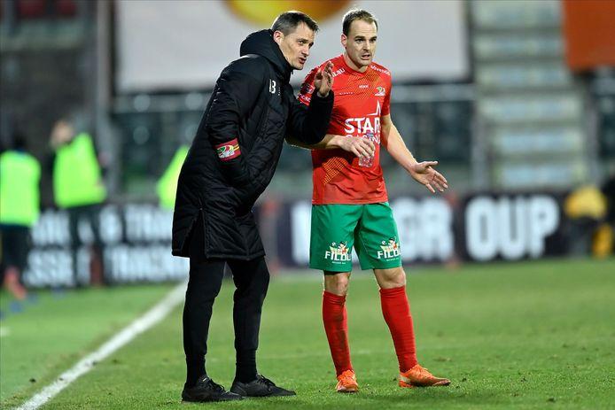 Brecht Capon werd door trainer Alexander Blessin in de aanval gedropt