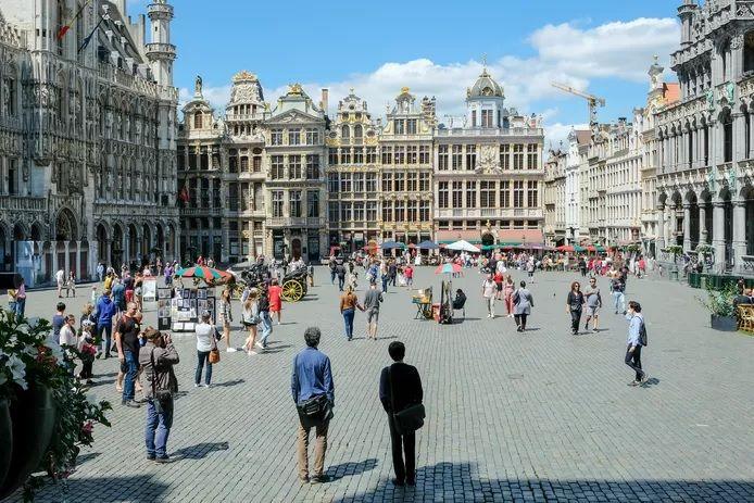 La Grand-Place de Bruxelles (illustration).