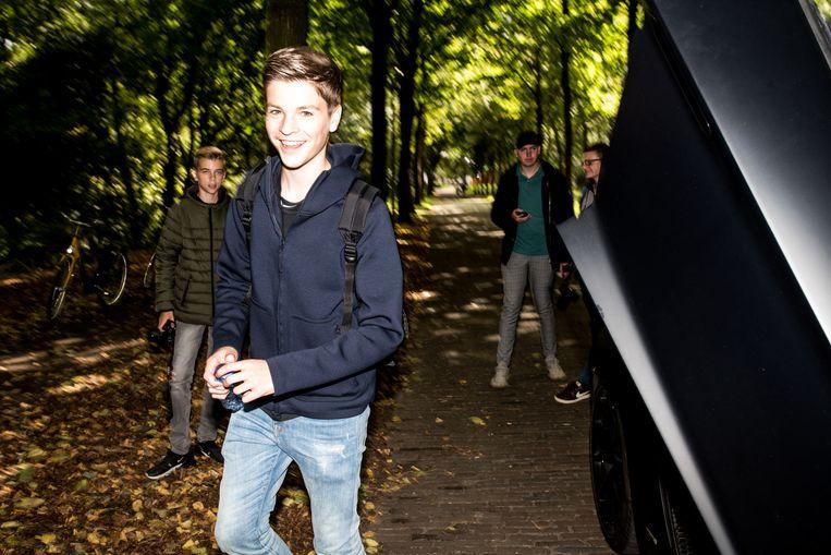 Julis Flux:  'Vrienden denken 'je maakt even een foto en verdient er geld mee', maar zo makkelijk gaat dat niet.' Beeld Jan Mulders