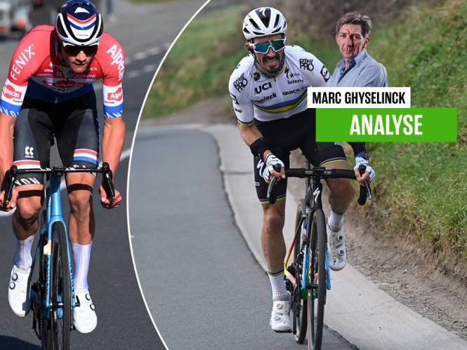 """Onze chef wielrennen ziet de helden van het weekend niét winnen: """"Alaphilippe is een beetje gek, Van der Poel is nog gekker"""""""