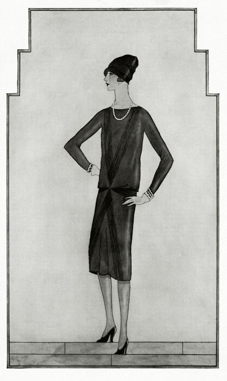 Chanels Little Black Dress - 'The Ford', model 817.  Beeld Getty