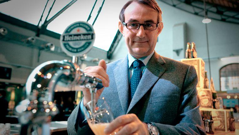 Heineken-topman Jean-François van Boxmeer. Beeld Didier Jouret