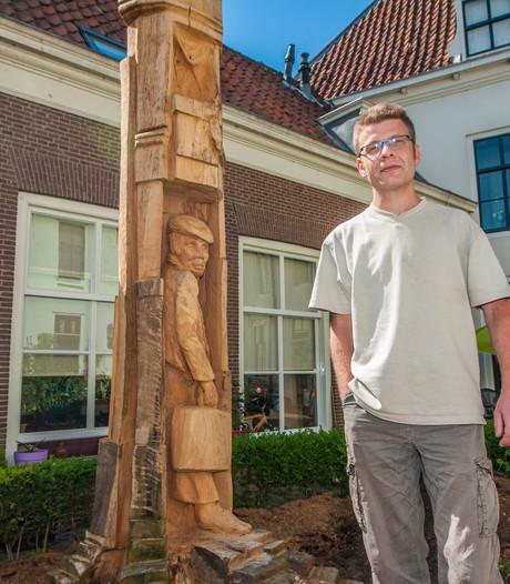 Bram Talman krijgt vrijwilligerspenning Gouda