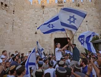 Duizenden Israëlische nationalistische nemen deel aan rechtse vlaggenmars door Jeruzalem