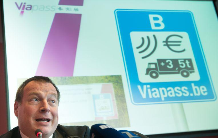 Viapass-baas Johan Schoups. Beeld belga