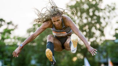 Rugwind houdt Nafi Thiam van Belgisch record verspringen