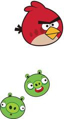 Angry Birds. De smartphone wordt spelconsole met dit verslavende spel.