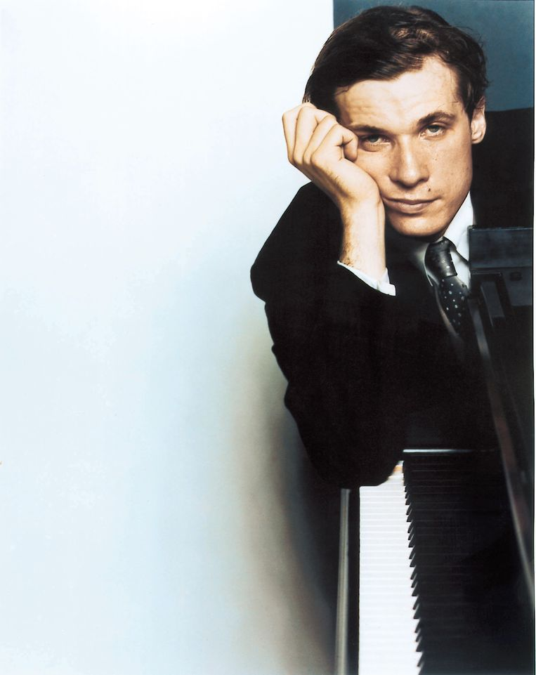 Glenn Gould in de jaren zestig. Beeld Hollandse Hoogte / AFP
