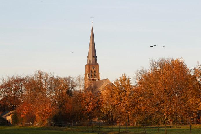 De kerk van 't Loo.