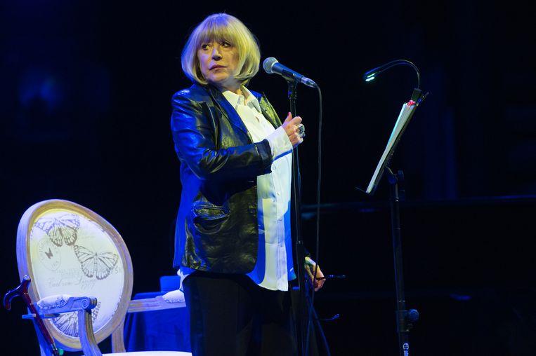 Marianne Faithfull in 2016. Beeld Brunopress