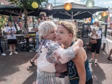 Berlijn ging niet door, dus verzon Hanne (27)  haar eigen marathon. Onderweg werd ze verrast