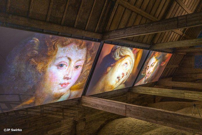 Iedereen Rubens: zolderruimte Sint-Martinuskerk. x