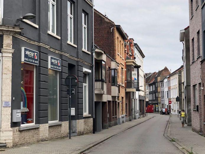 De Beauduinstraat in Tienen.