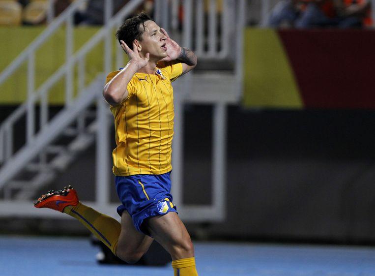 Sebastian De Vincenti scoorde voor APOEL