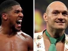 Anthony Joshua et Tyson Fury signent pour deux combats des titres unifiés poids lourds