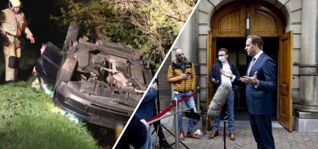 Nieuws gemist?  Omstanders duwen auto persfotograaf opzettelijk de sloot in en de versoepelingen gaan vanaf volgende week écht door