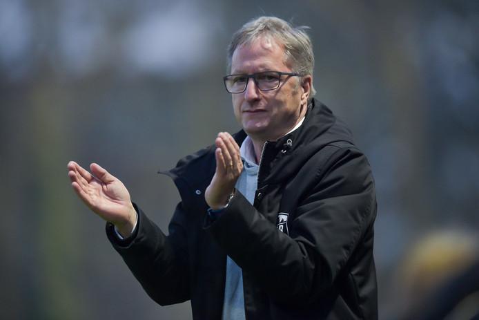 Eric Meijers, coach van VVSB.