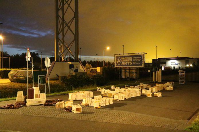 Inbrekers hadden het gemunt op een tuincentrum aan de Rijksstraatweg.