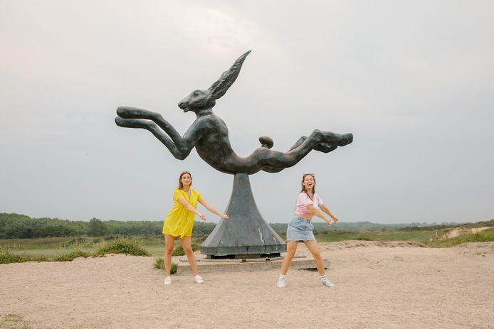 De TikTok-route laat je springen, dansen en minigolfen, zodat je leuke filmpjes kunt maken.