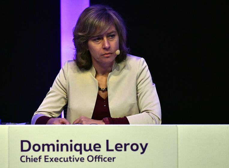 Dominque Leroy stapt in december over naar het Nederlandse KPN. Beeld BELGA